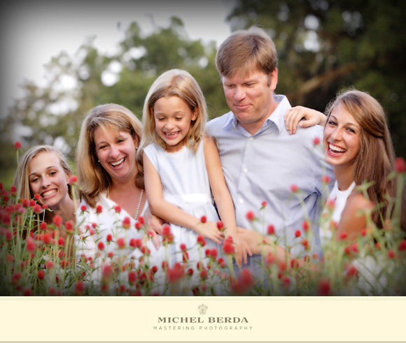 Family Portrait @ Boone Hall Plantation