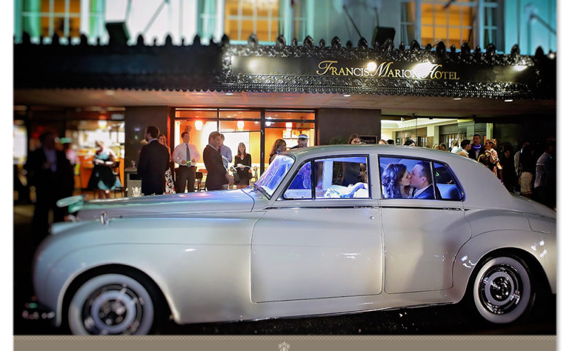 Wedding Affair, Madeleine & Kurtis At Catholic Church, Reception At The Francis Marion Hotel, Charleston, SC