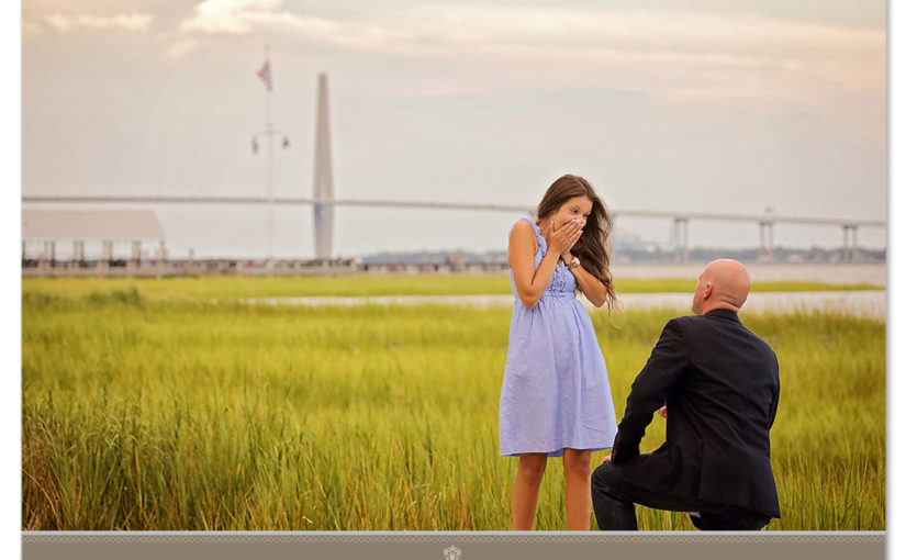 A Charleston SC Proposal Engagement For Lauren And Nate