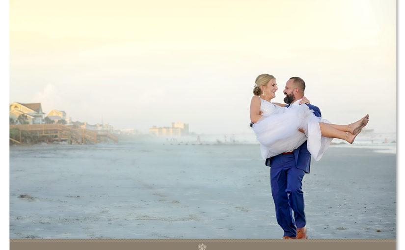 Folly Beach Wedding For Beth & Devin Private Beach House 917 West Ashley