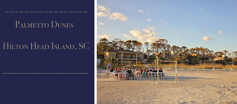 Palmetto Dunes Wedding Venue