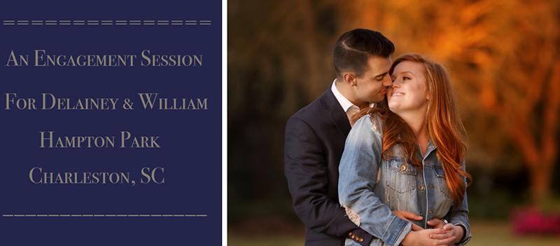 Engagement Session for Delainey & William at Hampton Park Charleston, SC