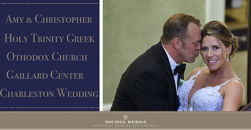 Fall Greek Wedding At Charleston Gaillard Center For Amy & Christopher